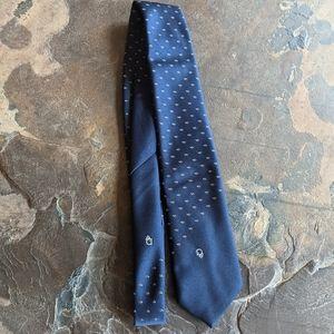 Christian Dior Blue Tie Silk Blend